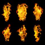 background_black_burning_color