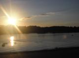 закат,_река,_горо