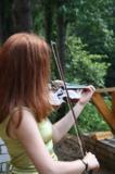 Девушка,_скрипка