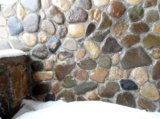 камень,_фон,_снег