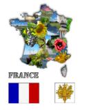 France,_Paris,_red,_strip,_whi