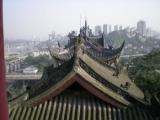 Китай,_крыша_дом�