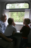 дети,_дедушка,_му