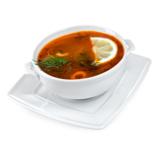 суп,_еда,_рыбный,_