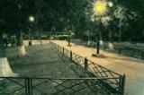 Ночь,_парк,_фонар