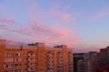 закат,_небо,_дом,_