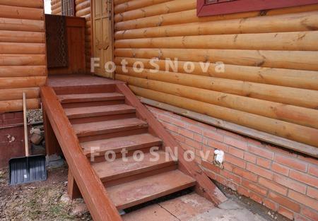 Деревянное крыльцо для деревянного дома своими руками