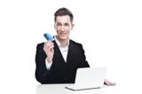 покупки с помощью кредитной карты с помощью сети Интернет